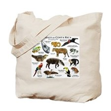 Costa Rica Animals Tote Bag