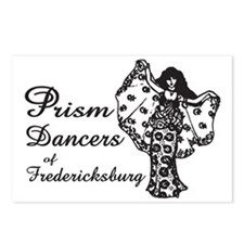 Prism Dancers of Frederic Postcards (Package of 8)