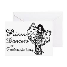Prism Dancers of Fredericksburg Greeting Card
