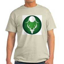 God & Goddess Green/Lt. Green T-Shirt