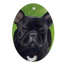 French Bully Oval Ornament