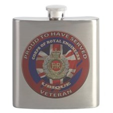proud to be a royal engineer veteran Flask