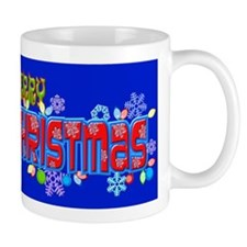 Merry Christmas Loudly Mugs
