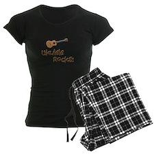 ukulele uke funny ukele design Pajamas