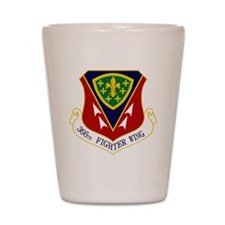 366th FW Shot Glass