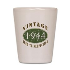 Vintage 1944 Birthday (Green) Shot Glass