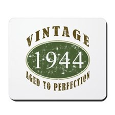 Vintage 1944 Birthday (Green) Mousepad