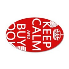 Keep Calm and Buy Books Wall Decal