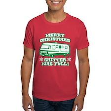Merry Christmas Shitter was Full T-Shirt
