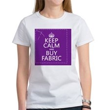 Keep Calm and Buy Fabric Tee