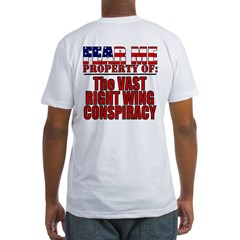 Evil Conservative (VRWC) Fitted T-Shirt