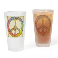 tiedye-peace-713-PLLO Drinking Glass