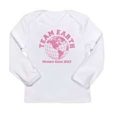 Team Earth Member Since 2013 America Long Sleeve T