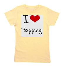 I love Yapping Girl's Tee