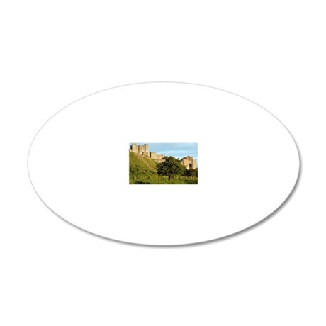 Dover Castle, England, Unite 20x12 Oval Wall Decal