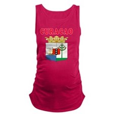 Curacao Coat Of Arms Designs Maternity Tank Top