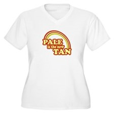 pale_transparent Plus Size T-Shirt