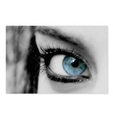 BLUE EYE GIRL Postcards (Package of 8)