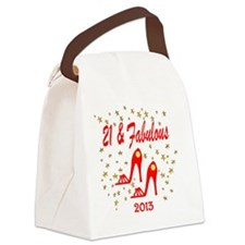SNAZZY 2IST Canvas Lunch Bag