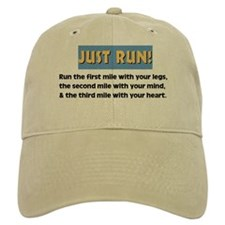 Run with your heart Baseball Cap