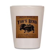 Yaks Bend Logo Shot Glass