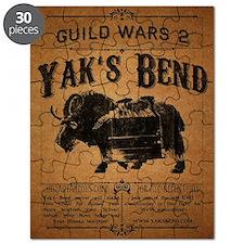Yaks Bend Logo Puzzle
