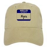hello my name is nya Baseball Cap
