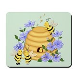 Honey Bee Dance Mousepad