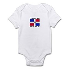 Dominican Republic Flag Onesie