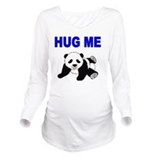 HUG ME WITH PANDA BE Long Sleeve Maternity T-Shirt