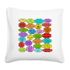 RN pillow Square Canvas Pillow