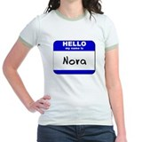 hello my name is nora T
