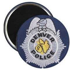 "Denver Police 2.25"" Magnet (10 pack)"