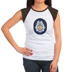 Denver Police Women's Cap Sleeve T-Shirt