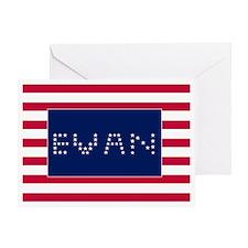 EVAN3 Greeting Card