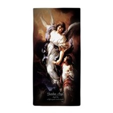 Guardian Angel Angele Dei Beach Towel