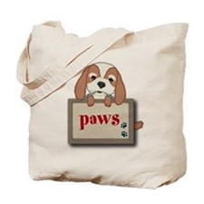 Customisable Cute Puppy Dog with Signboard Tote Ba