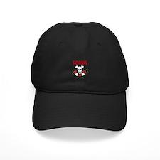 Groom Skull and Roses Baseball Hat