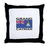 Grand Cayman Flag Throw Pillow