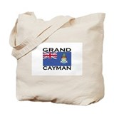 Grand Cayman Flag Tote Bag