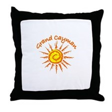 Grand Cayman Throw Pillow