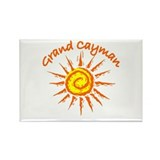 Grand Cayman Rectangle Magnet (10 pack)