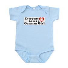 Everyone Loves a German Girl Onesie