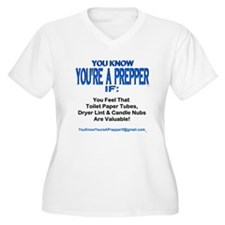 PREPPER 00011 Plus Size T-Shirt