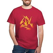 Fiery Saxophones T-Shirt