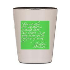 Advice Shot Glass