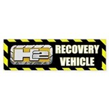 H2 Recovery Vehicle Jeep Bumper Bumper Sticker