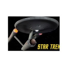 Poster Quality TOS Enterprise Rectangle Magnet