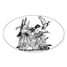 Ducks Unlimited Oval Decal