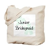 Jr. Bridesmaid Green Tote Bag